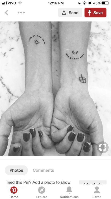 - #Bestfriendtattoos #Fatherdaughtertattoos #Friendshiptattoos #Matchingtattoos #Momanddaughtertattoosmatching #Sistertattoosfor2