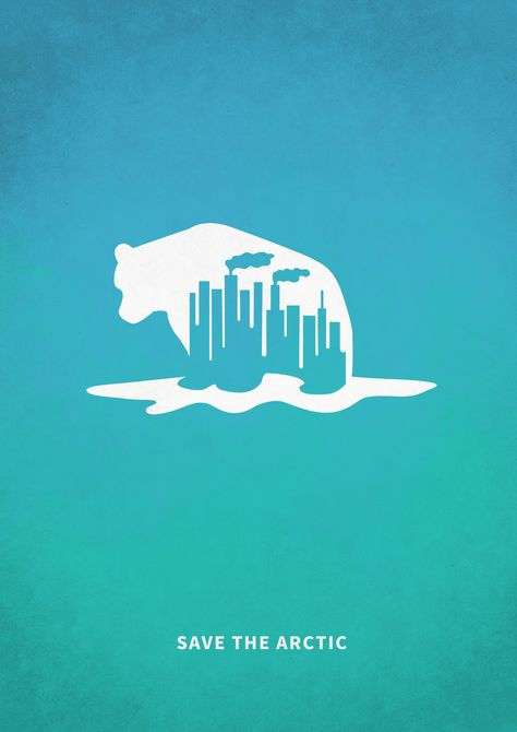 #save #arctic #north #polarbear #industrial #pollution #poster #environment #protection #environmental #conservation