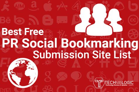 Best Free PR Social Bookmarking Submission Site List 2021