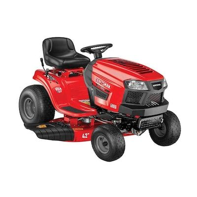 Shop Gas Riding Lawn Mowers Craftsman T105 Hp Manual Gear 42 In Riding Lawn Mower With Mulching Capability Kit Sold Separately In 2020 Craftsman Riding Lawn Mower Lawn Mower Riding Lawn Mowers