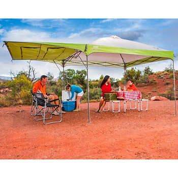 Coleman 10 X 10 Instant Canopy With Swing Wall Instant Canopy
