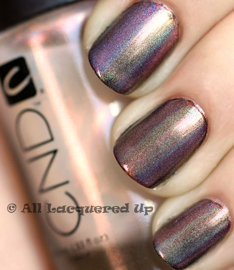 CND Mood Ring Manicure using CND sparkles, by Michelle of All Lacquered Up.
