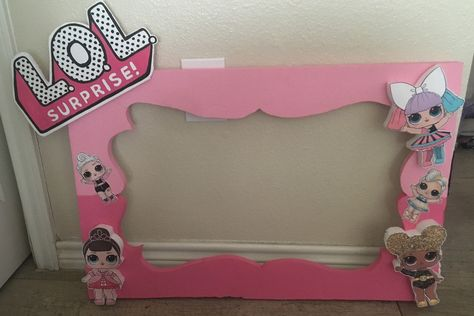 Lol Surprise Photo Frame   www.Facebook.com/PrincessGift13  Etsy: Princesscreationson