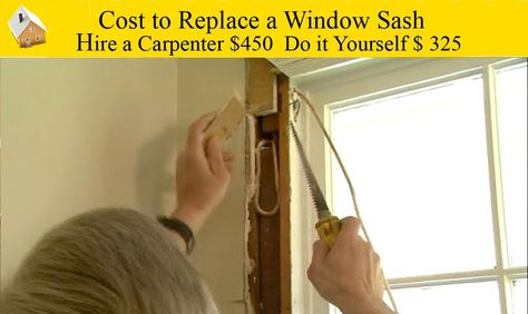 Cost To Replace A Window Sash This Is An Alternative