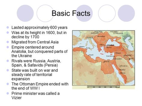 The Ottoman Empire AP World History. Basic Facts Lasted