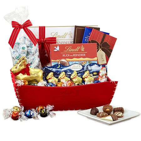LindorSmoothStyles Holiday Magic Lindt Chocolate Gift Basket ...