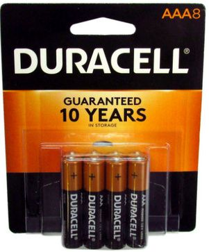 Duracell Mn2400b8 Aaa 8 Blister Pack Duracell Watch Battery Aaa