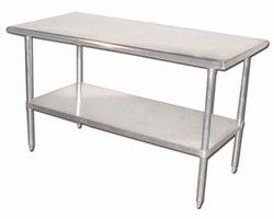 Awesome Small Stainless Steel Work Table Best Home Decorating Ideas - Restaurant supply prep table