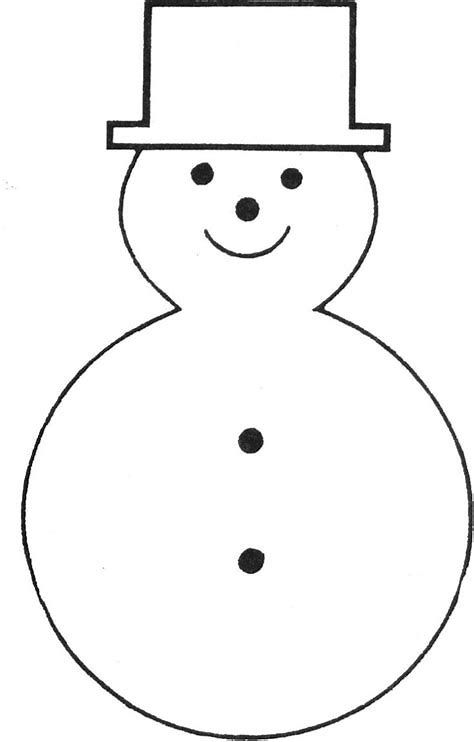 It is a graphic of Printable Snowman Face for pattern