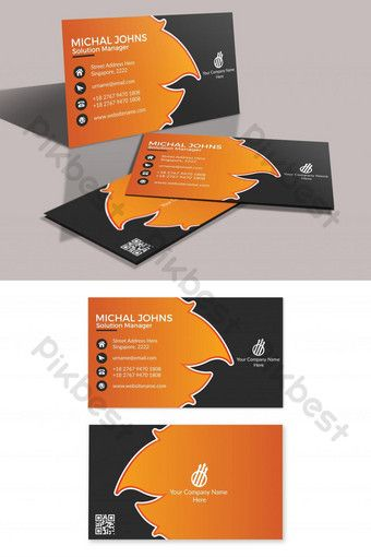 Fire Style Business Card Ai Free Download Pikbest Business Card Design Business Card Material Business Fashion
