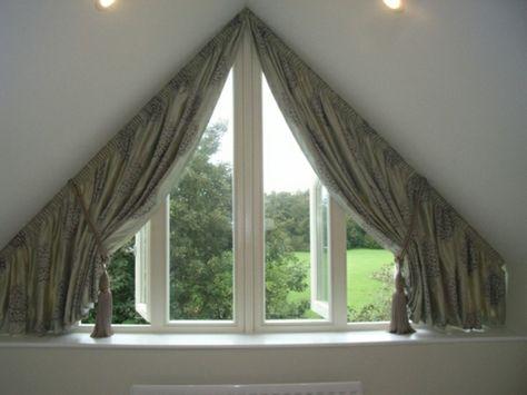 Attic Room Curtain Ideas