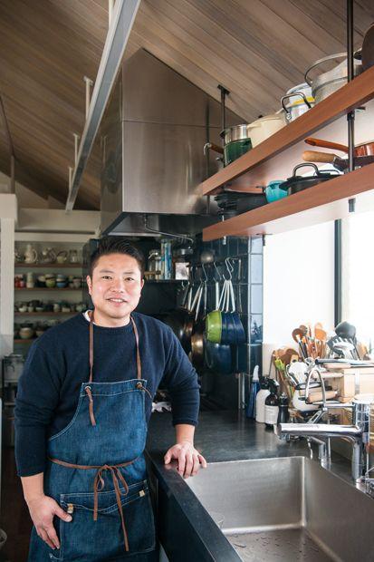 料理家の台所 キッチン 吊り棚 キッチン 家