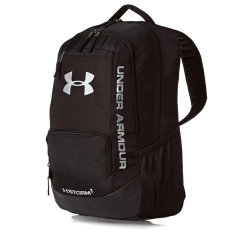 Under Armour Ua Hustle Backpack - Black/black/silver