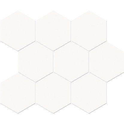 Cersanit Mozaika Ceramiczna Tobo White 33 7 Cm X 28 Cm Tile Floor Crafts Flooring