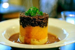 Burns night supper haggis at the design museums blueprint cafe malvernweather Choice Image