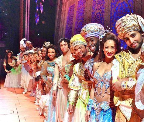 The amazingly talented Aladdin cast