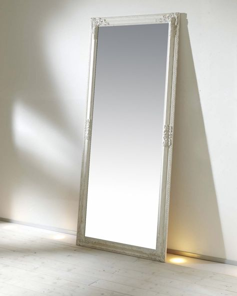 Spiegel 72 X 162 Cm Weiss Spiegel Wohnaccessoires Haushalt Deko Spiegel Weiss Spiegel Wandspiegel