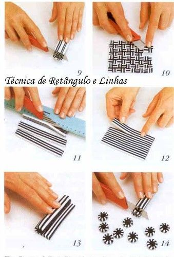 Tecnica rectangulo y lineas