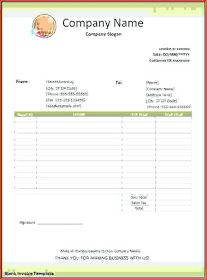 Free downloadable Blank invoice template excel | Resume ...