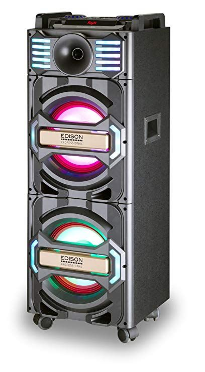 Edison Professional Party System 2000 Bluetooth Wireless Pa