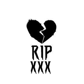 Rip XXXTENTACION sticker/vinyl/Decal Vinyl REVENGE bad vibes forever