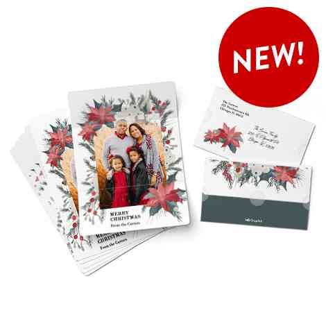 Rustic Mitten Ornament Christmas Ornaments And Decor Gifts Snapfish Us Cards Photo Panel Card Set