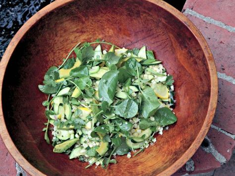 The Chef's Take: Corn, Summer Squash and Avocado Salad from Suzanne Goin -- recipe via @Food Network's Healthy Eats #avocado #salad #summer