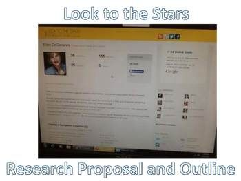 Research Proposal And Outline Celebrities And Charities Google