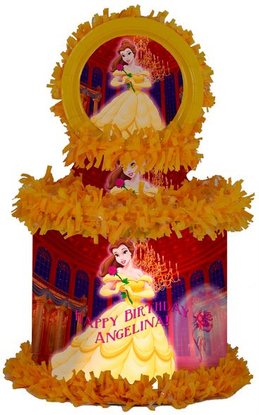 Pinata Belle princess of beauty and the beast