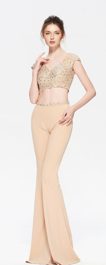 b1f9bc391f4f List of Pinterest two pieces jumpsuit prom images   two pieces ...