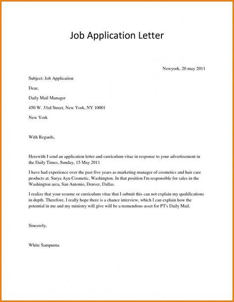 Scholarship Application Letter | template | Job application ...