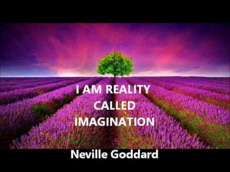 Neville Goddard - I AM REALITY CALLED IMAGINATION (one of Neville's best...