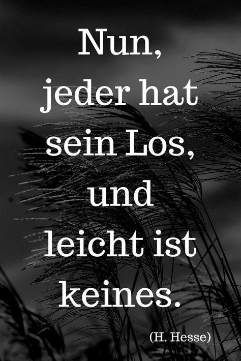 """""""Nun, jeder hat sein Los, und leicht ist keines."""" (H. Hesse) ….. mehr zu Hermann Hesse auf: Der Leiermann"""