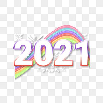 Rainbow 2021 Pastel Color Rainbow Clipart 2021 Happy New Year Png And Vector With Transparent Background For Free Download Happy New Year Png Rainbow Clipart Rainbow Color Background