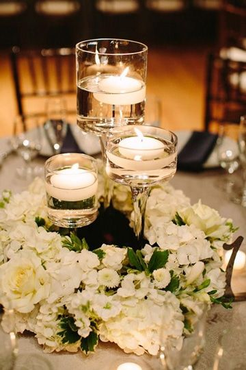 21 Imagenes de arreglos de mesa para boda