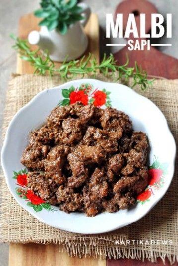 Resep Malbi Daging Sapi Khas Palembang Memasak Makanan Daging Sapi