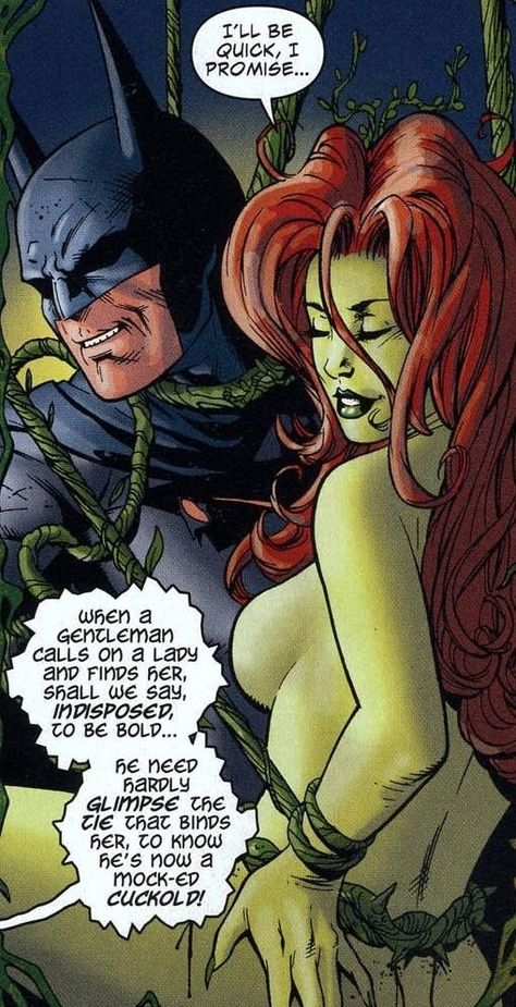 Batman And Poison Ivy Sex