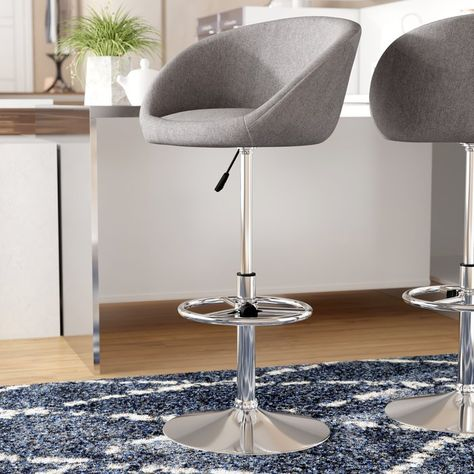 Prime Riko Light Grey Adjustable Stool 87Cm To 109Cm Structub Caraccident5 Cool Chair Designs And Ideas Caraccident5Info