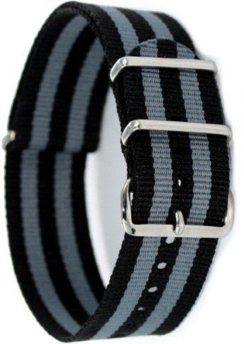 Praetorian® NATO Armband James Bond Style 22mm - http://on-line-kaufen.de/praetorian/praetorian-nato-armband-james-bond-style-22mm