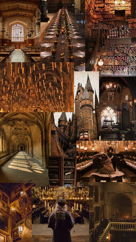 hogwarts aesthetic phone wallpaper
