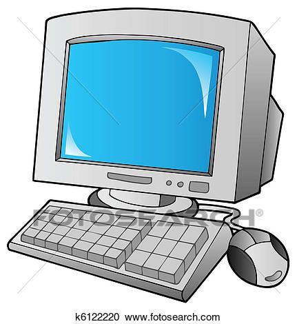 Resultado De Imagen Para Imagen De Computadora En Caricatura Computadora