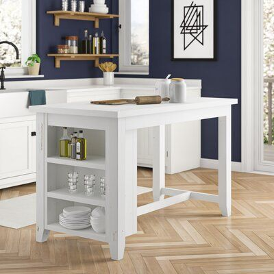 You Ll Love The Byron Kitchen Island Set At Wayfair Great Deals