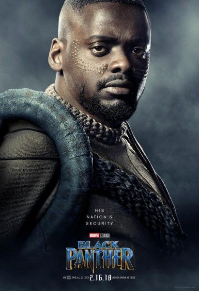 New Black Panther Character Posters Celebrate The Beautiful Cast
