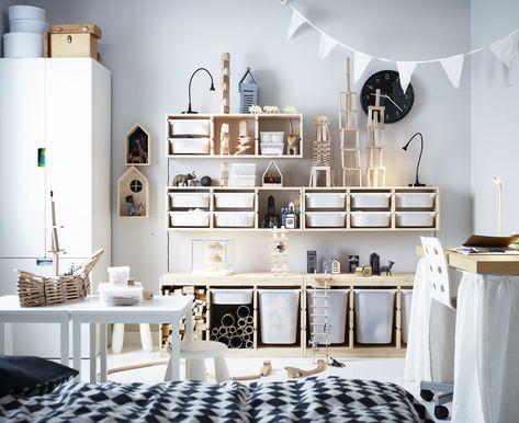 Ikea Baby Kast : Trofast opberger ikea ikeanl inspiratie opbergruimte bureau