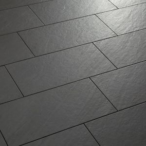 American Olean Carbon Mist Slate 12 In X 24 In Glazed Porcelain Stone Look Floor And Wall Tile Lowes Com Wall Tiles Porcelain Flooring Olean