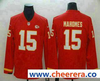 on sale 27871 11d78 Men's Kansas City Chiefs #15 Patrick Mahomes II Nike Red ...