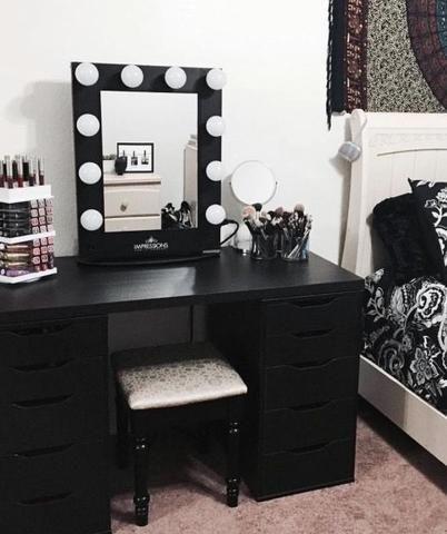 20 Best Makeup Vanities & Cases for Stylish Bedroom   Vanity ...