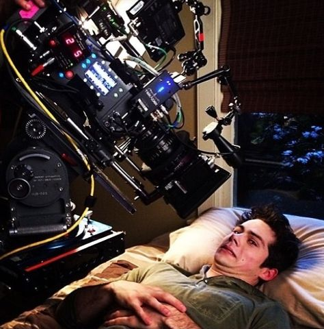 Dylan O'Brien - - - The joys of being a film/TV actor.
