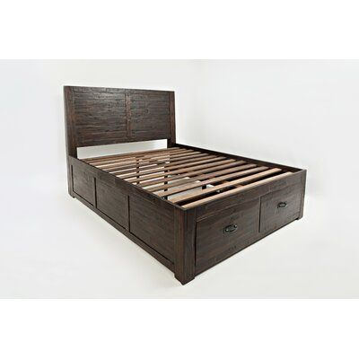 Athol Platform Bed With Drawers Size Full In 2020 King Storage Bed Platform Bed With Drawers Storage Bed Queen