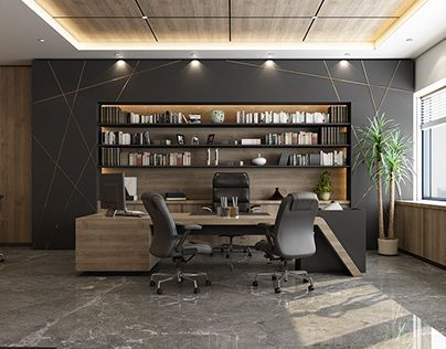 Ceo Office In 2020 Modern Office Interiors Office Interior Design Modern Modern Office Design